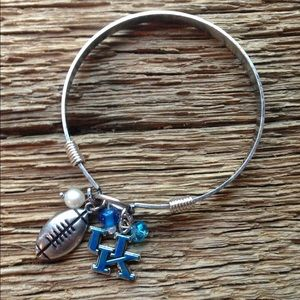 Jewelry - University of Kentucky Wildcats bracelet, UK cats